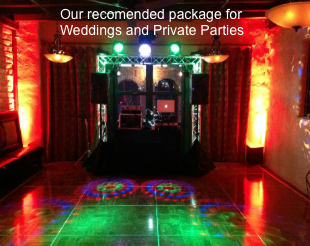 Dance Hall Event Lighting